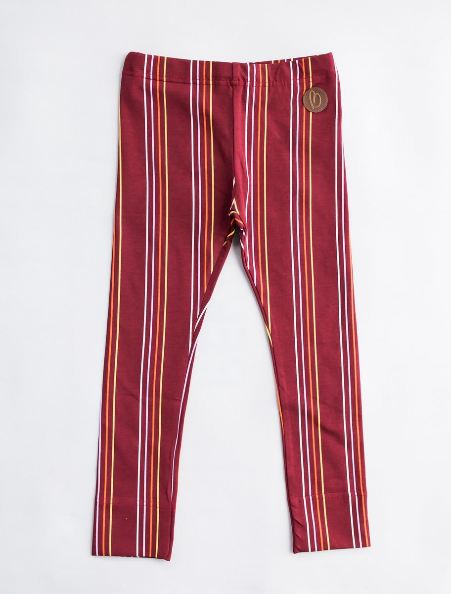 PARIS Leggingsit, Stripes Syrah