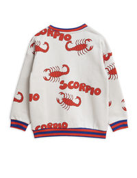 MINI RODINI SCORPIO AOP SWEATSHIRT, GREY