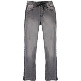 MOLO AUGUSTINO SWEAT PANTS, GREY DENIM