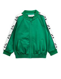 MINI RODINI PANDA WCT JACKET, GREEN