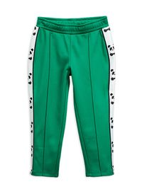 MINI RODINI PANDA WCT TROUSERS, GREEN