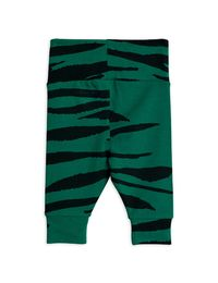 MINI RODINI TIGER NB LEGGINGSIT, GREEN
