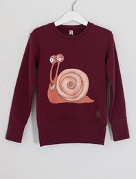 BLAA MADRID COLLEGE SHIRT, SNAIL PP CHOCOLATE