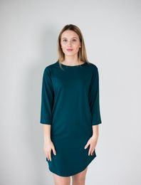 BLAA PORTLAND DRESS, DEEP TEAL