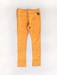 BLAA PARIS COLLEGE LEGGINGS, PILE YELLOW