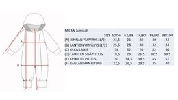 MILAN Jumpsuit trikoohaalari, Chameloeon Brown
