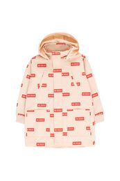 TINY COTTONS BE BOLD JACKET, CREAM/RED