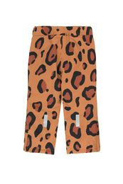 TINY COTTONS ANIMAL PRINT SNOW PANT, BROWN