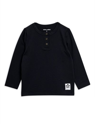 MINI RODINI BASIC GRANDPA LS, BLACK