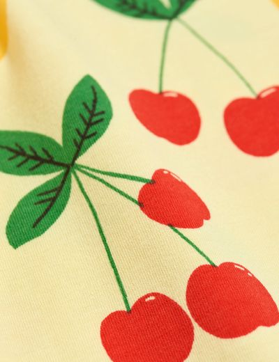 MINI RODINI CHERRY LEMONADE AOP LEGGINGS