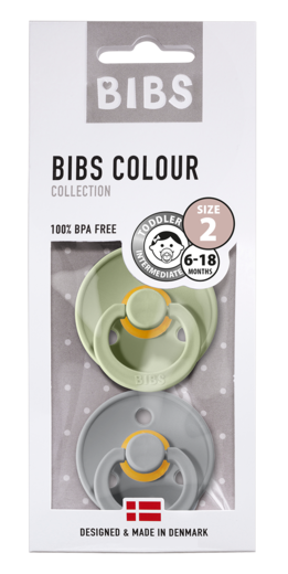BIBS COLOUR TUTIT, SAGE/CLOUD