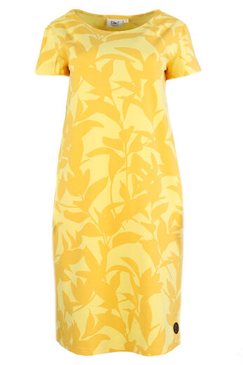 KALLA Naisten mekko, Jungle Yellow