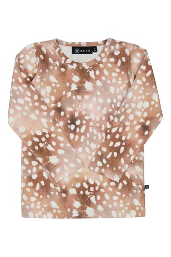 KAIKO BAMBI T-SHIRT LS, COPPER