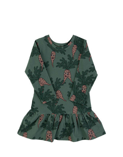 DEAR SOPHIE PARSLEY DRESS, GREEN
