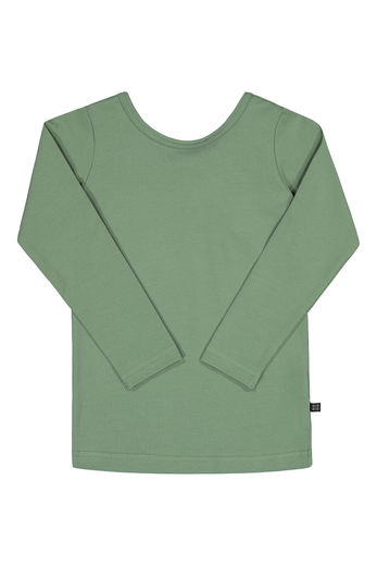 KAIKO CROSS SHIRT LS, SAGE