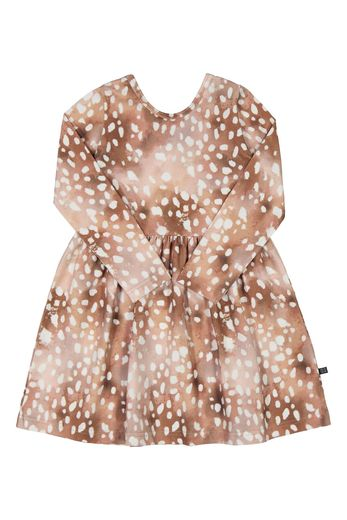 KAIKO BAMBI DRESS LS, COPPER