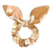 KAIKO BOW SCRUNCHIE, MARBLE MEADOW